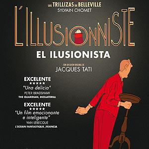 El ilusionista, film animado francés