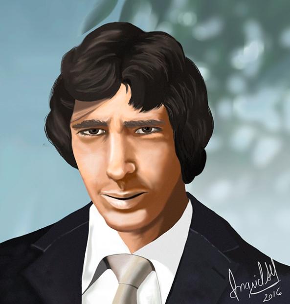 retrato Juan mini