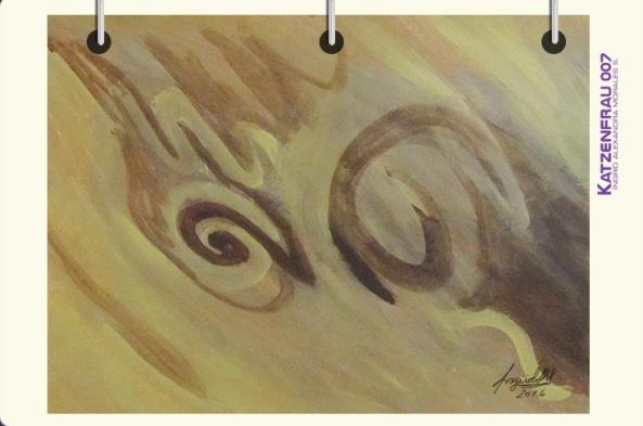 Pintura abstracta en acrílico by Ingrid Alexandra M