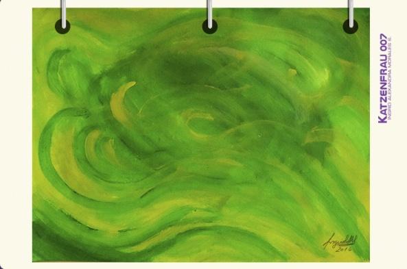 Pintura abstracta - katzenfrau007