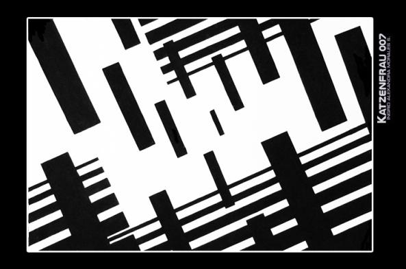 Composición, blanco y negro profundidad