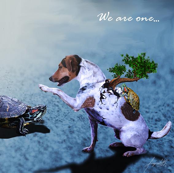 We are one, Ingrid Alexandra Morales S. Katzenfrau007