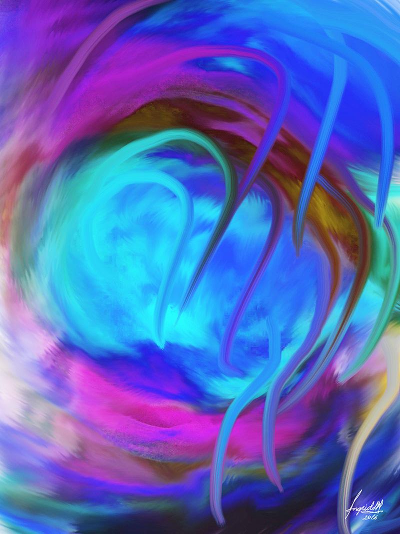 painting abstract - Ingrid Alexandra Katzenfrau007