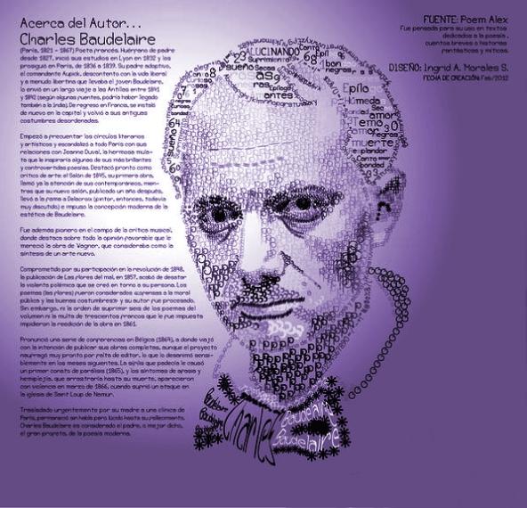 Charles Baudelaire - Tipografía
