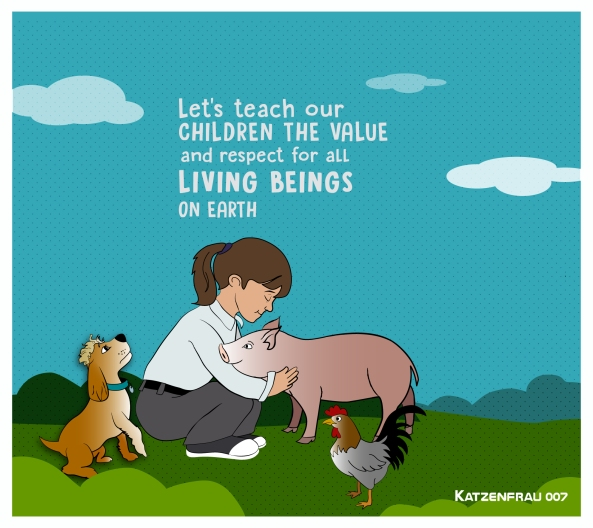 Let's teach equal animal rights - Igualdad animal